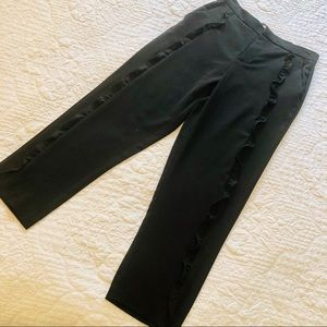 Pants - Ruffle crepe trousers excellent condition
